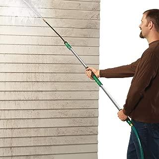 Collections Etc Home & Garden Flexible Water Blaster Attachment Extends 7' Long, Green