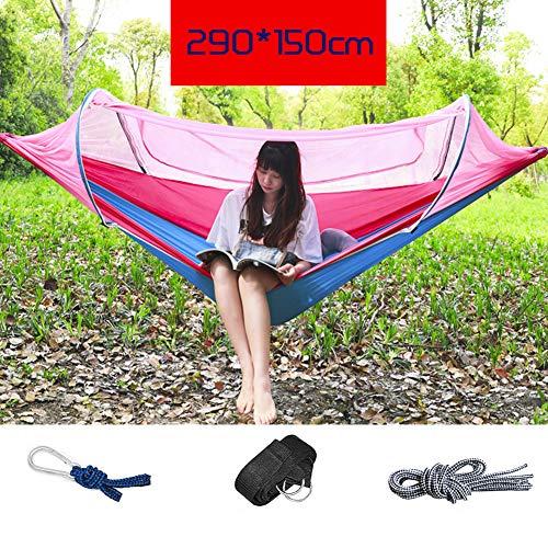 HUHD Moskitonetz Für Hängematte, Lightweight Portable Ripstop Nylon Insekt-kostenloser Camping Backpacking & Survival Outdoor Zelt-g 290x150cm(114x59inch)