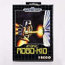 TopFor Atomic Robo Kid 16 Bit Md Game Card With Retail Box For Sega Mega Drive For Genesis