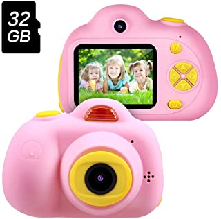 Gifts for 3 4 5 6 Year Old Girls,OMWay Kids Camera for Girls, Outdoor Toys for 5 6 7 8..