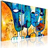 murando Cuadro Pintado a Mano 135x90 cm Arte Moderno Cuadros en Lienzo Original...