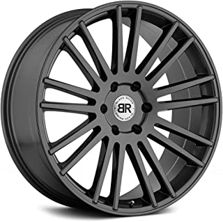 Black Rhino KRUGER Grey Wheel with Painted Finish (20 x 9. inches /6 x 120 mm, 30 mm Offset)