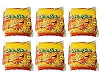 【1ケース】インスタントヌードル トムヤムシュリンプクリーム味 (70g×5袋入)×6個