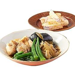 [冷凍] 3人前 ミールキット Oisix 越前白山鶏ももと和野菜炊き合わせ さつまいもの竜田揚げ風副菜付き 調理約20分