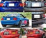 Ford Mustang Chrome Exterior Trasera Pegatina de Inserciones Cartas Emblema 2001 2002 2003 2004