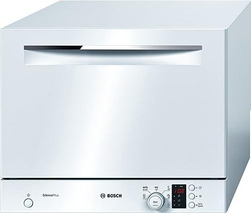 Lave vaisselle mini Bosch SKS62E22EU - Mini lave vaisselle- Classe A+ / 48 decibels - 6 couverts - Blanc bandeau : Blanc
