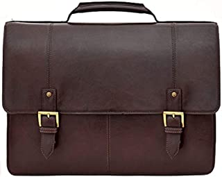 HIDESIGN Charles Large Double Gusset Leather 17