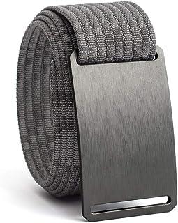 Web Belts for Men - Nylon Belt- Fully Adjustable Casual Belt Strap & Belt Buckle