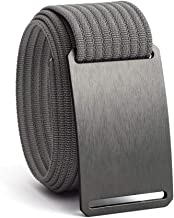 Web Belts for Men & Women- Adjustable Nylon Belt by GRIP6
