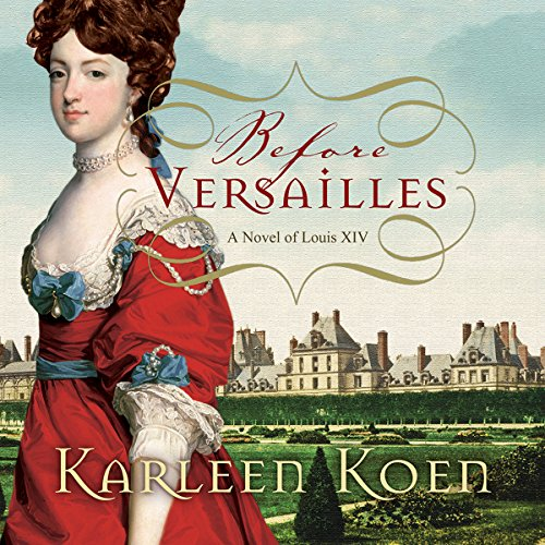 Before Versailles audiobook cover art