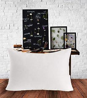 Elit Home Collection Premium - Juego de 2 Almohadas de algodón (50 x 70 cm), Color Blanco