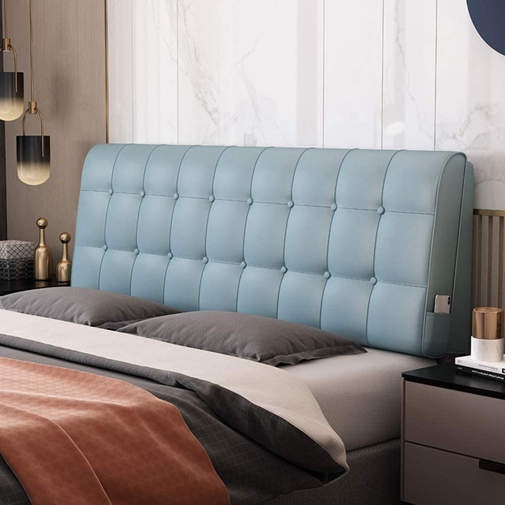 GC Large Headboard Cushion pu Our shop most popular Leather Fabric Bedside Case Recommended Soft