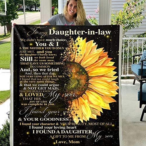 Personalized Custom to My Daughter in Have Ch WE Elegant Didn't Law Complete Free Shipping Much
