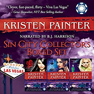 Sin City Collectors Boxed Set audiobook cover art