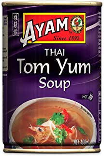 AYAM Thai Tom Yum Soup | Hot, Spicy & Sour | Gluten, Dairy, Nut & Egg Free | No Preservatives, No Artificial Flavours, No ...
