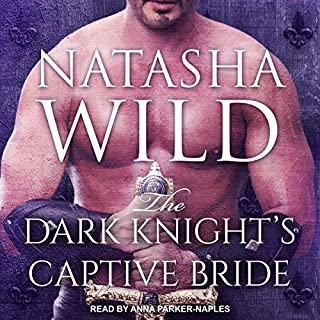 The Dark Knight's Captive Bride audiobook cover art