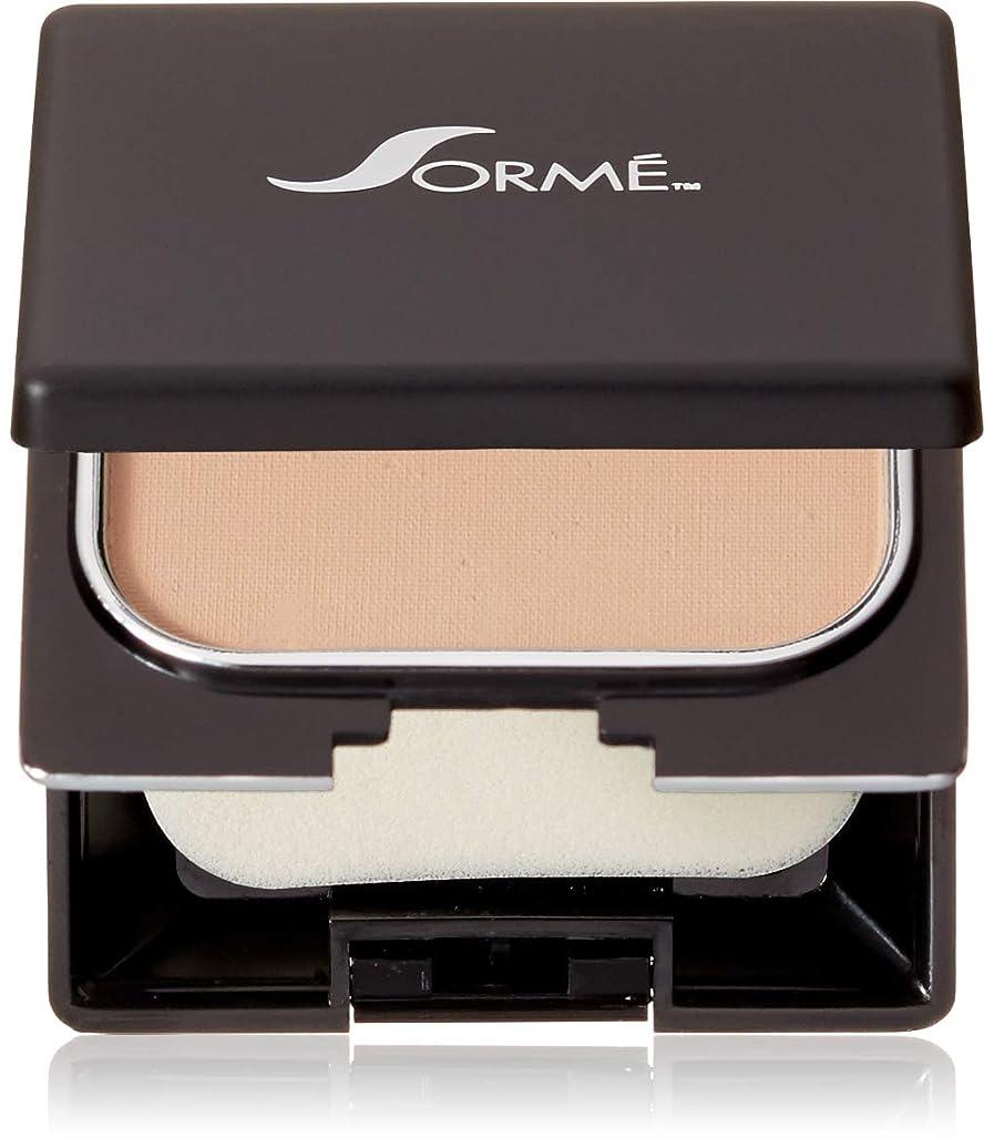 ファンシー感嘆更新するSorme' Treatment Cosmetics Sorme化粧品信じフィニッシュパウダーファンデーション、0.23オンス 0.23オンス ピュアベージュ