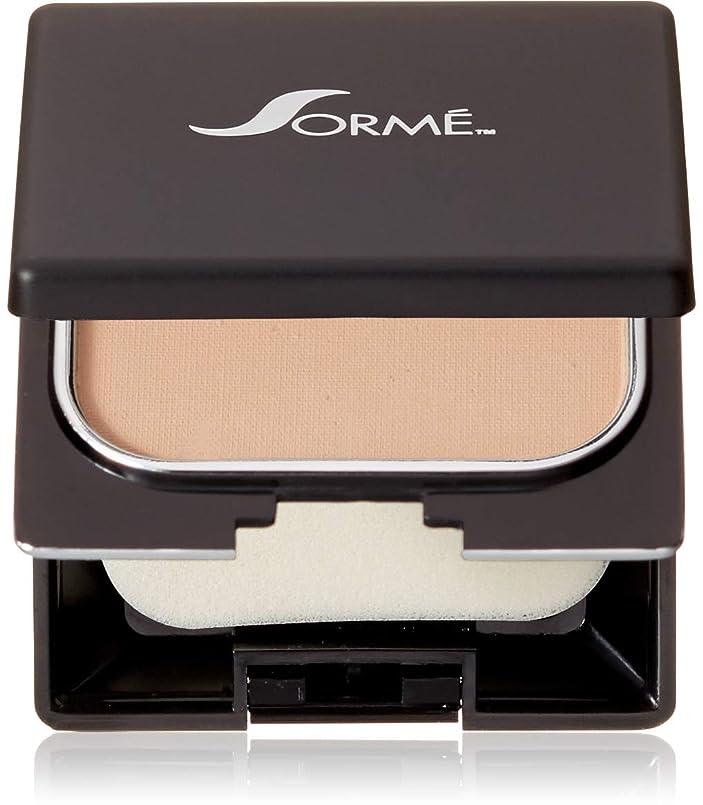 貢献飢饉寓話Sorme' Treatment Cosmetics Sorme化粧品信じフィニッシュパウダーファンデーション、0.23オンス 0.23オンス ピュアベージュ