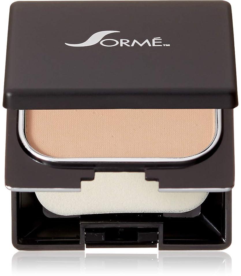 葡萄敵盆地Sorme' Treatment Cosmetics Sorme化粧品信じフィニッシュパウダーファンデーション、0.23オンス 0.23オンス ピュアベージュ