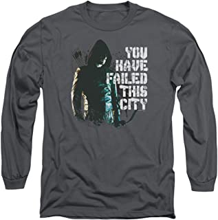 Arrow CW Superhero TV Series You Have Failed This City Adult Long Sleeve T-Shirt