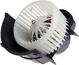 SCITOO ABS Plastic Heater Blower Motor w/Fan HVAC Blowers Motors fit for 2007-2015 Audi Q7 /2004-2010 Volkswagen Touareg Front