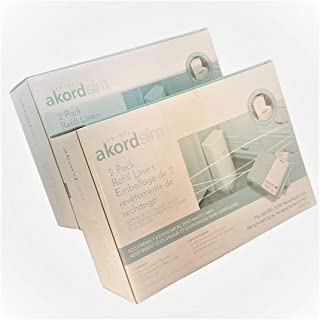 Akord 4-Pack Liner Refills For 280 Slim Model (2 Packages of 2)