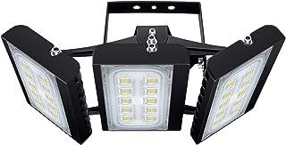 Grange Garage Lumi/ères Solaires 10W 6V 13,6x 9,3 Panneaux Solaires avec 800 LM Double 5,1x 3,9 64LED de Plein air Projecteurs pour Cl/ôture Remise