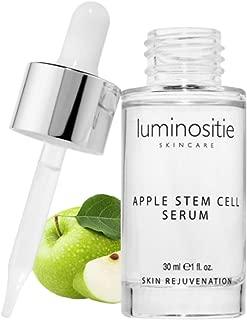 Swiss Apple Stem Cell Face Serum - Skin Cell Renewal Therapy | Anti Wrinkle, Anti Aging Skin Serum W/Malus Domestica (1oz)