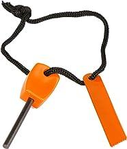 Futurekart Mini Magnesium Flint Spark Fire for Outdoor Sport Camping Survival Tool (Orange)