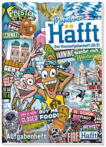 Häfft Original - Das Hausaufgabenheft 2020/2021 A5 [München] ultimativer Schülerkalender, Schülerplaner | nachhaltig & klimaneutral