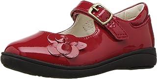 حذاء من الجلد الحائز على براءة اختراع للبنات من Stride Rite Stride Rite خفيف الوزن من Mary Jane
