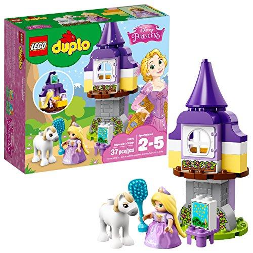 LEGO Kit de construcción de la Torre 10878 Duplo Princesa rapunzelâ's (37 Piezas)