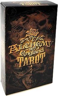 アルケミアタロットカード 錬金術イングランドタロット78カードデッキ オラクルトランプパーティーボードゲーム
