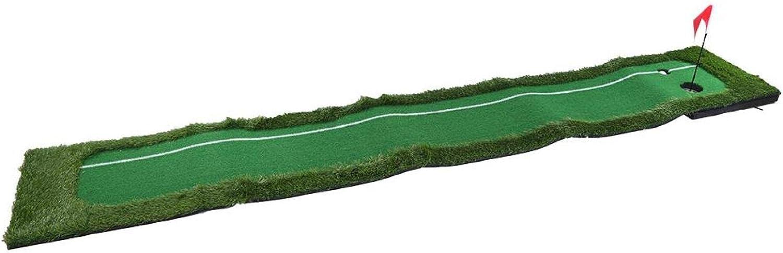 FOLOSAFENAR Golf Training New color Luxury goods Mat with Slope Design E Green