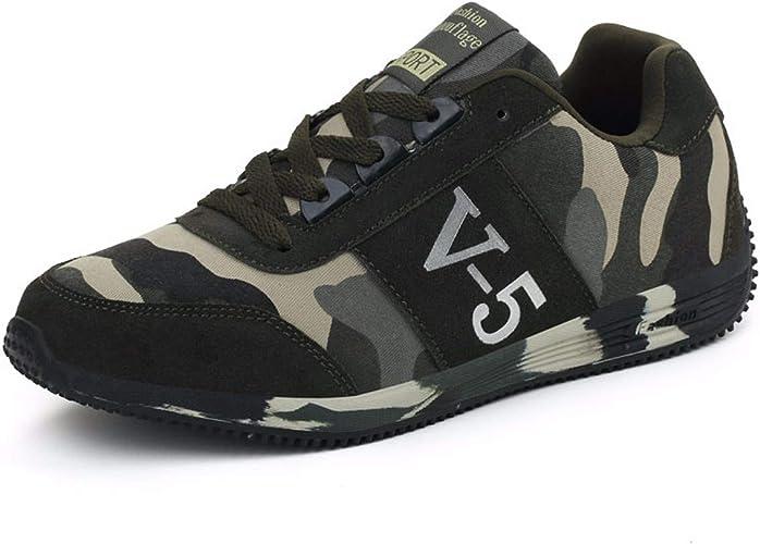 KMJBS-Sports Chaussures Camouflage Chaussures pour Homme Chaussures de Sport en Plein air Les Amateurs de Course à Pied Camouflage Thirty-Seven