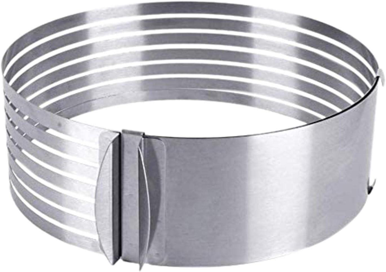 Cake Slicer Adjustable Leveler Ring 2021 model Stainless Sale Special Price Cutter 7-Layer Ste