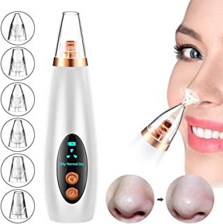 Blackhead Remover Pore Vacuum, Zit Cleaner Acne Tools Blemish Extractor Electric Blackheads Suction for Nose and Face Skin