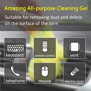 XILIFE G2 Keyboard Cleaning Gel Car Detailing Putty Auto Detailing Gel Detail Tools Car Interior Cleaner Universal Du...