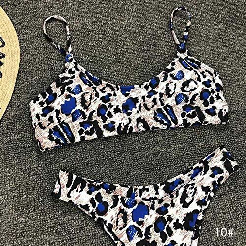 Bikini Sexy Leopard Bikinis Bikini Set Push Up Tanga Biquini High Cut Bademode Frauen 10 Farben Badeanzug Weiblicher Badeanzug Mj