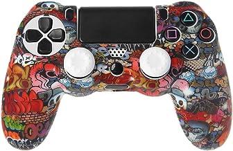 Baodanjiayou - Carcasa de Silicona para Mando de PS4 (Compatible con Mando de Playstation 4)