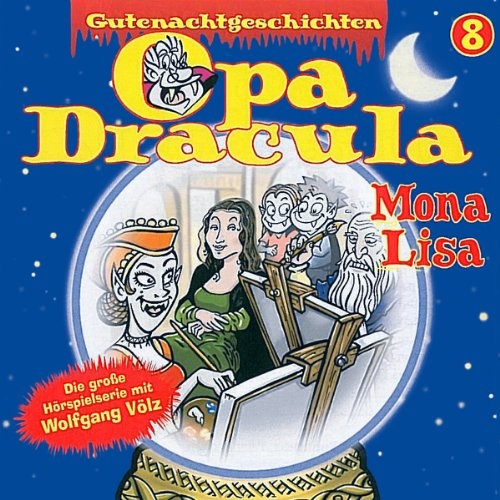 Opa Dracula 8: Mona Lisa cover art