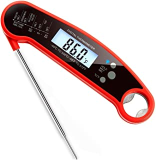 Meat Thermometer Instant Read, Waterproof, Cooking Food Kitchen Grilling, Digital Meat Thermometer with Probe, for Candy