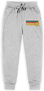 Dxqfb Retro Vegan Dino Boys Sweatpants,Sweatpants For Boys