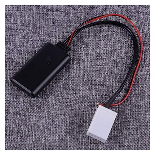 ZHUHUI YUYANGZHI 12 Pin 12V Bluetooth 4.0 AUX Radio Adaptador estéreo Cable Adaptador para VW MCD R110 R100 RNS 300 RNS 500 RNS 510 RCD 200 RCD 210