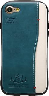 Natural Design 【iPhone 8/7専用】 衝撃吸収背面ケース FLAMINGO Turquoise