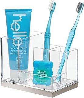 Silicone Toothbrush Holder Bathroom Organizer Toothpaste Razor Storage Stand BX