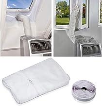Raamafdichting voor mobiele airconditioners, AirLock, geschikt voor elk airconditioner en alle slangmaten. 400 cm