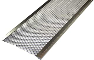 Spectra Metal Sales GS501LC25 Armour Screen Gutter Guard, Corrosive Resistant Aluminum, Easy to Install with Self-Locking