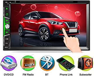 7 inch car DVD Player,Dual din DVD Player Mobile Phone Universal DVD,Support Android Phone Link,Bluetooth,FM Radio Tuner,USB TF Card,bb