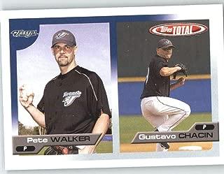 2005 Topps Total #652 Pete Walker / Gustavo Chacin - Toronto Blue Jays (Prospect) (Baseball Cards)